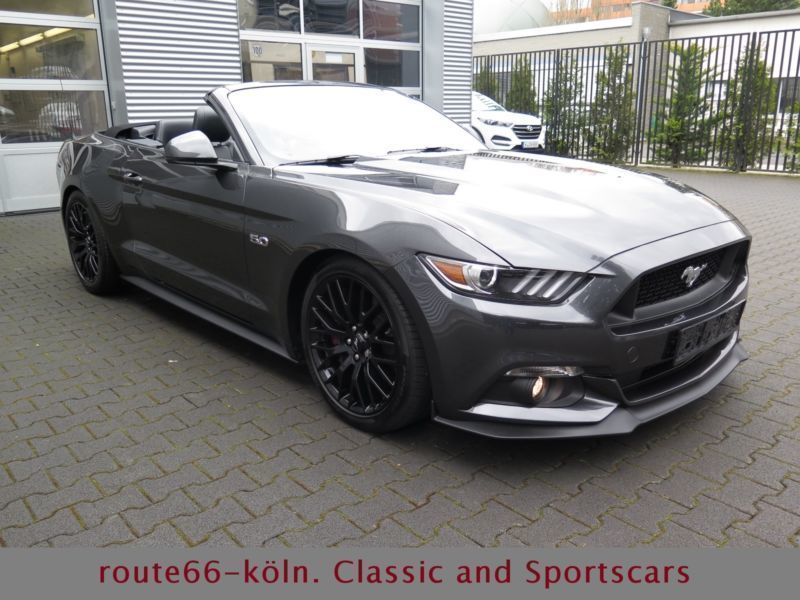 verkauft ford mustang cabrio 5 0 v8 au gebraucht 2016 8. Black Bedroom Furniture Sets. Home Design Ideas