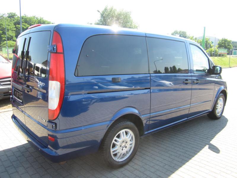 verkauft mercedes vito 122 cdi 8 sitze gebraucht 2010 km in frankfurt oder. Black Bedroom Furniture Sets. Home Design Ideas