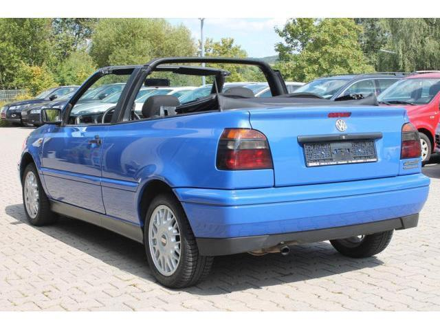 verkauft vw golf cabriolet gebraucht 1997 km in. Black Bedroom Furniture Sets. Home Design Ideas