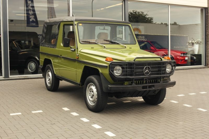 verkauft mercedes g240 diesel 4x4 lkw gebraucht 1980 km in bramstedt. Black Bedroom Furniture Sets. Home Design Ideas