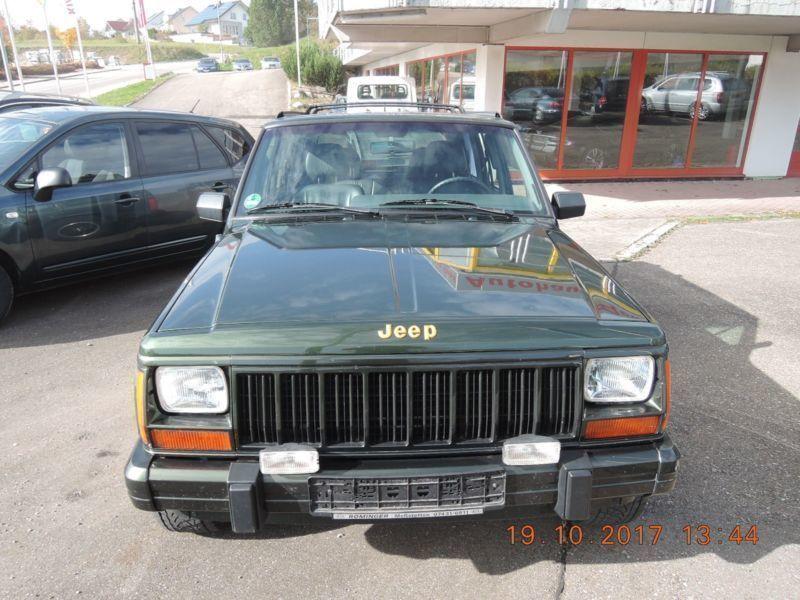 verkauft jeep cherokee 4 0 gebraucht 1997 km in dohma. Black Bedroom Furniture Sets. Home Design Ideas