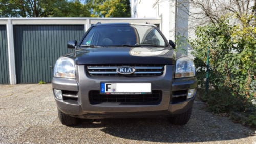 verkauft kia sportage 2 7 v6 ex gebraucht 2006 km in hessen. Black Bedroom Furniture Sets. Home Design Ideas