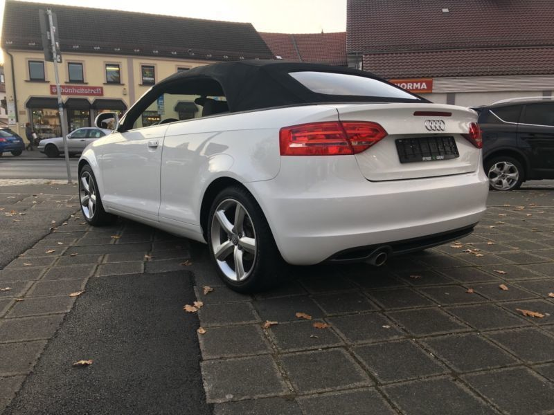 verkauft audi a3 cabriolet s line spor gebraucht 2010 km in gro heubach. Black Bedroom Furniture Sets. Home Design Ideas