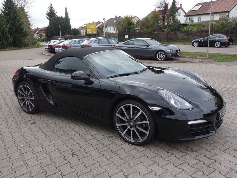 verkauft porsche boxster gebraucht 2015 km in g ppingen. Black Bedroom Furniture Sets. Home Design Ideas