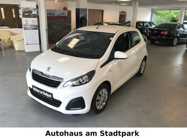 verkauft peugeot 108 active automatik gebraucht 2015 km in bochum. Black Bedroom Furniture Sets. Home Design Ideas