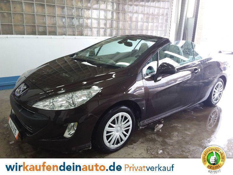 verkauft peugeot 308 cc 2 0 hdi fap pl gebraucht 2010 km in hamburg. Black Bedroom Furniture Sets. Home Design Ideas