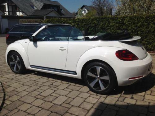 verkauft vw beetle 60 39 s 1 4tsi cabrio gebraucht 2013. Black Bedroom Furniture Sets. Home Design Ideas