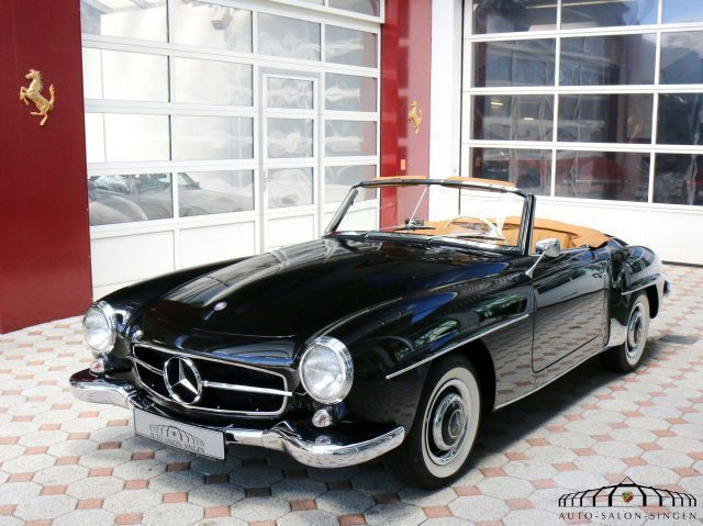 verkauft mercedes 190 sl sammlerfahrze gebraucht 1959. Black Bedroom Furniture Sets. Home Design Ideas