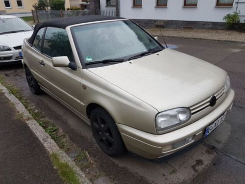 verkauft vw golf cabriolet 1 8 gebraucht 1994 km in gera. Black Bedroom Furniture Sets. Home Design Ideas