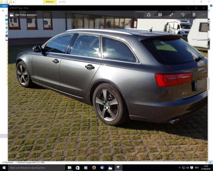 verkauft audi a6 avant 3 0 tdi dpf qua gebraucht 2012 km in geschwenda. Black Bedroom Furniture Sets. Home Design Ideas