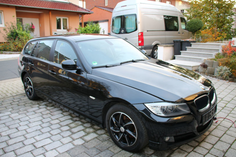 verkauft bmw 318 d dpf touring aut gebraucht 2009 km in kassel. Black Bedroom Furniture Sets. Home Design Ideas