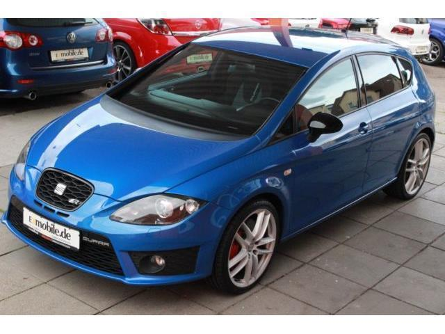 verkauft seat leon cupra 2 0 gebraucht 2011 km. Black Bedroom Furniture Sets. Home Design Ideas
