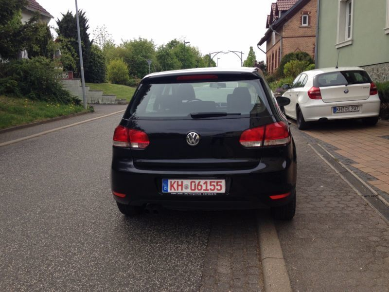 verkauft vw golf vi trendline gebraucht 2009 km in hergenfeld. Black Bedroom Furniture Sets. Home Design Ideas