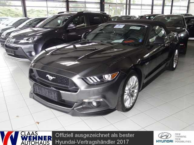 verkauft ford mustang gt cabrio 5 0 ti gebraucht 2016. Black Bedroom Furniture Sets. Home Design Ideas