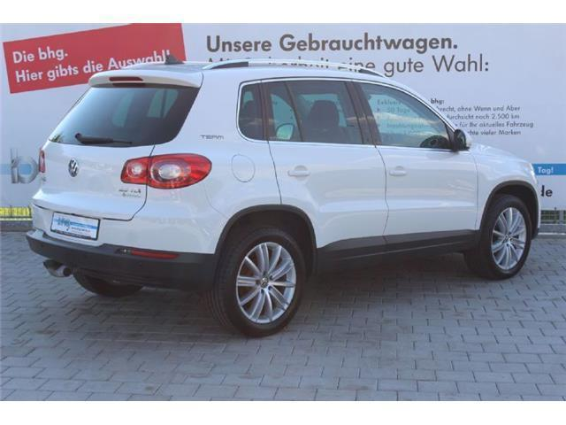 verkauft vw tiguan 2 0 tdi 4 motion of gebraucht 2010 km in olpe. Black Bedroom Furniture Sets. Home Design Ideas