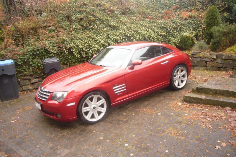 verkauft chrysler crossfire mit lpg gebraucht 2006 151. Black Bedroom Furniture Sets. Home Design Ideas