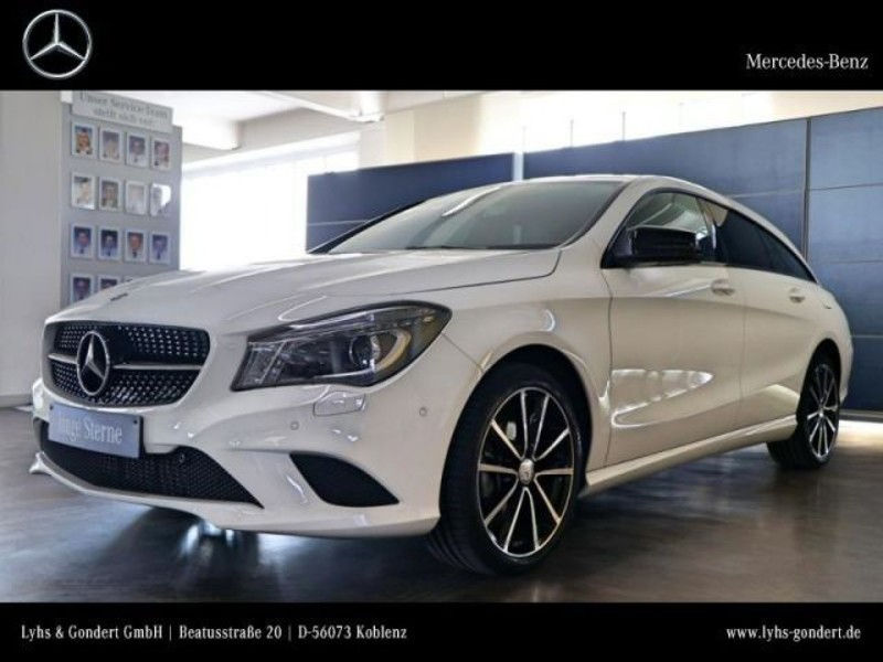 verkauft mercedes cla180 shooting brak gebraucht 2016 km in koblenz. Black Bedroom Furniture Sets. Home Design Ideas