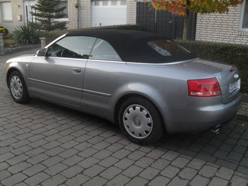verkauft audi a4 cabriolet 1 8 t gebraucht 2007 km in havixbeck. Black Bedroom Furniture Sets. Home Design Ideas