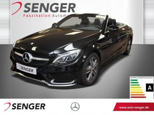 gebraucht Mercedes C220 C-Klassed Cabriolet Comand,Kamera,ILS-LED Navi AMG