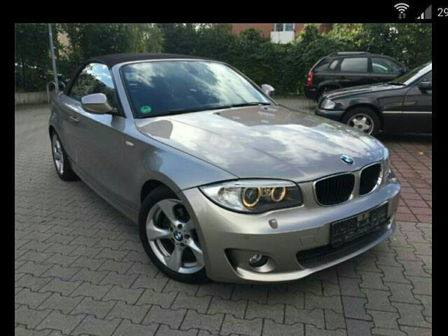 verkauft bmw 118 cabriolet 1er gebraucht 2011 km. Black Bedroom Furniture Sets. Home Design Ideas