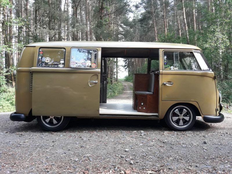 verkauft vw t1 vwbus bulli mit 2 schie gebraucht 1965 km in bad salzungen. Black Bedroom Furniture Sets. Home Design Ideas