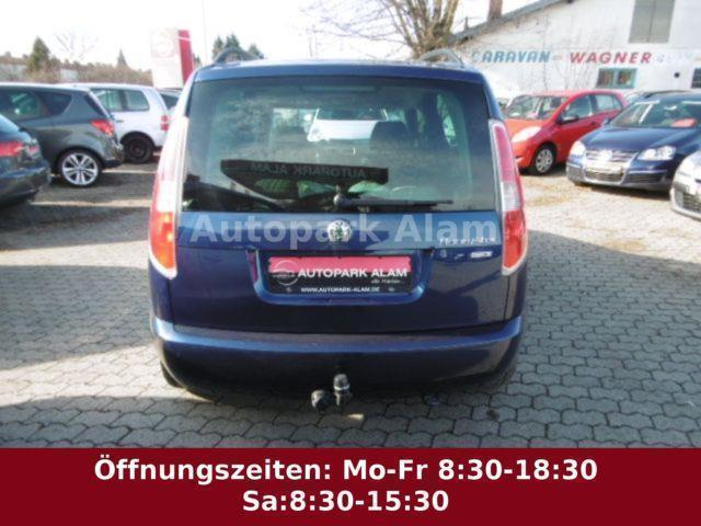 verkauft skoda roomster 1 4 tdi dpf er gebraucht 2008 km in z lpich. Black Bedroom Furniture Sets. Home Design Ideas