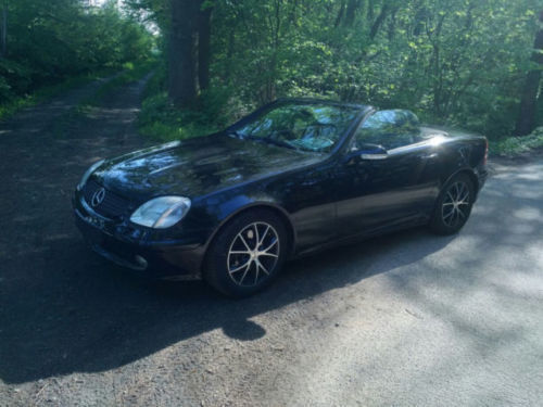 verkauft mercedes slk200 kompressor gebraucht 2001 km in rellingen. Black Bedroom Furniture Sets. Home Design Ideas