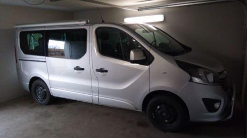 Verkauft Opel Vivaro Camper Markise Gebraucht 2016 6