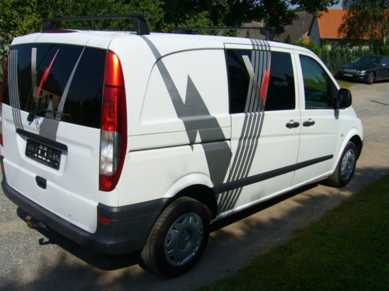 verkauft mercedes vito mixto 115 cdi k gebraucht 2008. Black Bedroom Furniture Sets. Home Design Ideas