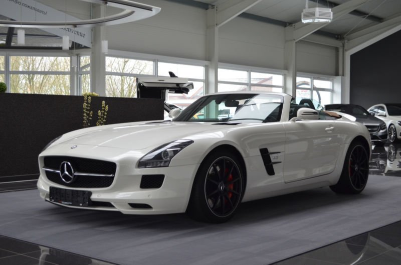 verkauft mercedes sls amg cabrio amg i gebraucht 2012 km in pinneberg. Black Bedroom Furniture Sets. Home Design Ideas