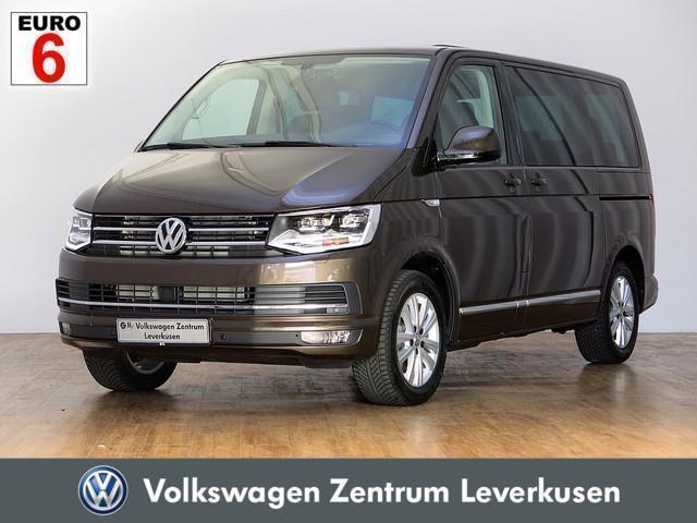 gebraucht VW Multivan T62.0 TDI Highline SHZ LED STANDHZ ACC - Leder,Klima,Sitzheizung,Alu,Servo,Standheizung,AHK,