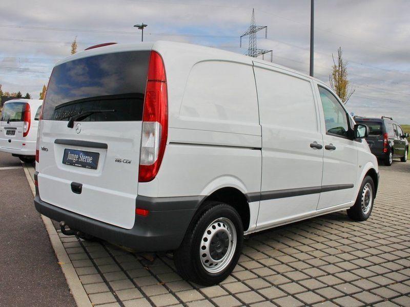 gebraucht kastenwagen 116 cdi kompakt mercedes vito 2014 km in weimar legefeld. Black Bedroom Furniture Sets. Home Design Ideas