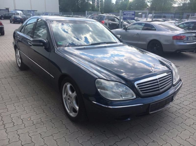 verkauft mercedes s320 s klasse lim gebraucht 2001 km in hannover. Black Bedroom Furniture Sets. Home Design Ideas