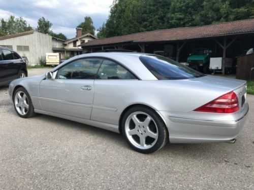 verkauft mercedes cl500 gebraucht 2000 km in nordheim. Black Bedroom Furniture Sets. Home Design Ideas