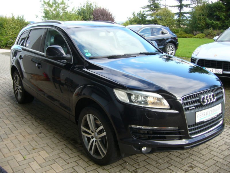 verkauft audi q7 3 0 tdi quattro preis gebraucht 2006 km in pr m. Black Bedroom Furniture Sets. Home Design Ideas