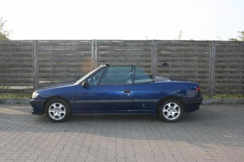 verkauft peugeot 306 cabriolet cabrio gebraucht 1996 km in nippes. Black Bedroom Furniture Sets. Home Design Ideas