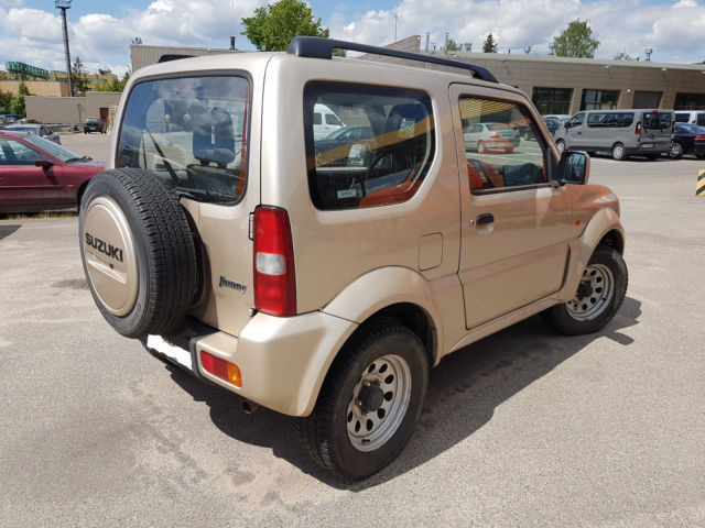 verkauft suzuki jimny 4x4 gebraucht 2008 km in teltow. Black Bedroom Furniture Sets. Home Design Ideas