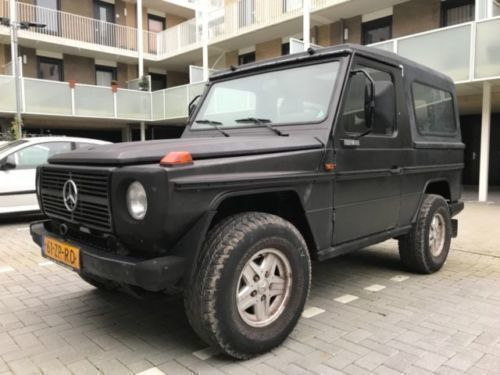 verkauft mercedes g240 g klasse cabrio gebraucht 1982 km in meppen. Black Bedroom Furniture Sets. Home Design Ideas