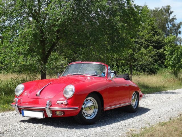 gebraucht sc cabrio porsche 356 1965 km in alling. Black Bedroom Furniture Sets. Home Design Ideas