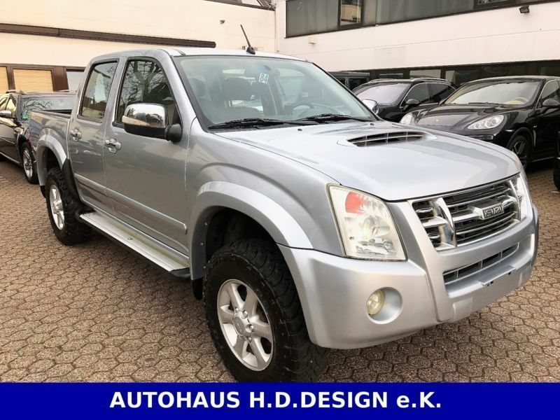gebraucht 4x4 double cab autm custom klima ahk 3t isuzu d max 2010 km in k ln. Black Bedroom Furniture Sets. Home Design Ideas