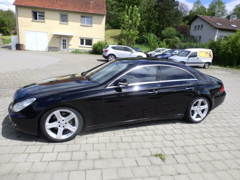 verkauft mercedes cls320 cls 350 sport gebraucht 2007. Black Bedroom Furniture Sets. Home Design Ideas