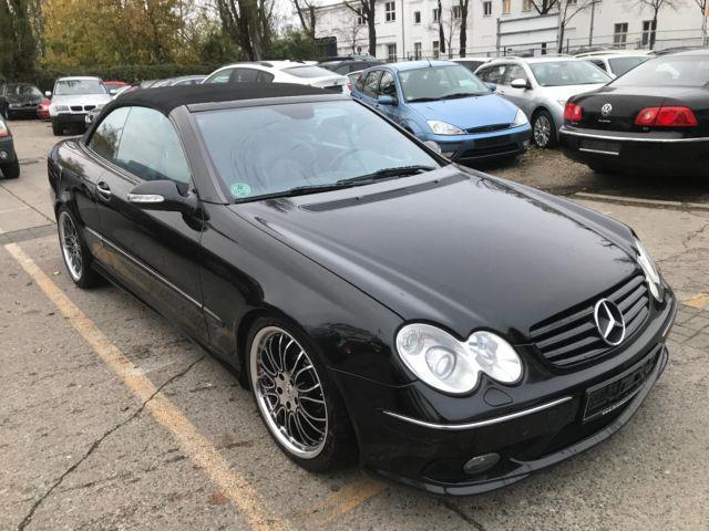 verkauft mercedes clk500 clk cabrio cl gebraucht 2004. Black Bedroom Furniture Sets. Home Design Ideas