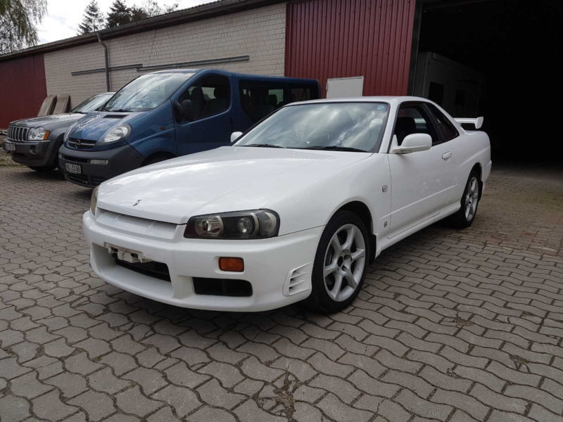 verkauft nissan skyline r34 gtt deut gebraucht 1998. Black Bedroom Furniture Sets. Home Design Ideas