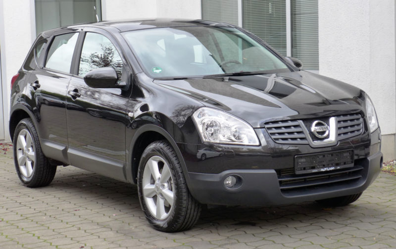 verkauft nissan qashqai tekna 4x4 lede gebraucht 2008 km in weissensee. Black Bedroom Furniture Sets. Home Design Ideas