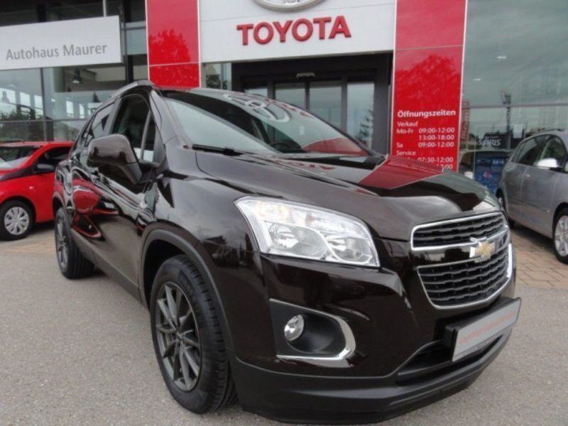 verkauft chevrolet trax 1 4t awd ls p gebraucht 2014 km in t rkheim. Black Bedroom Furniture Sets. Home Design Ideas