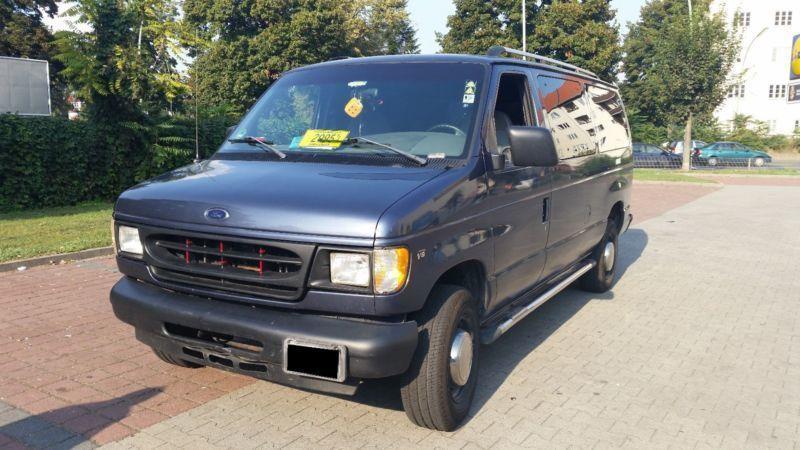 1 4 Gebraucht Ford Econoline E350 Mit Prins Gasanlage