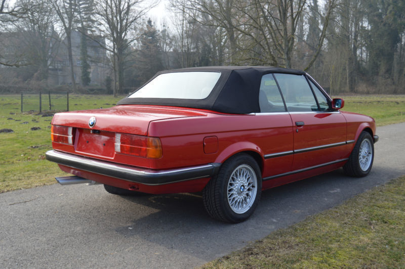 verkauft bmw 320 cabriolet i sehr s gebraucht 1989. Black Bedroom Furniture Sets. Home Design Ideas
