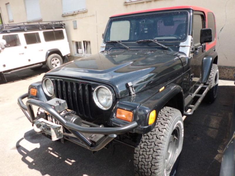 verkauft jeep wrangler 2 5 cabrio mit gebraucht 1997. Black Bedroom Furniture Sets. Home Design Ideas