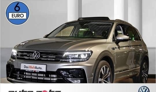 Vw Tiguan 20 Diesel 239 Ps 2017 Landau Autouncle