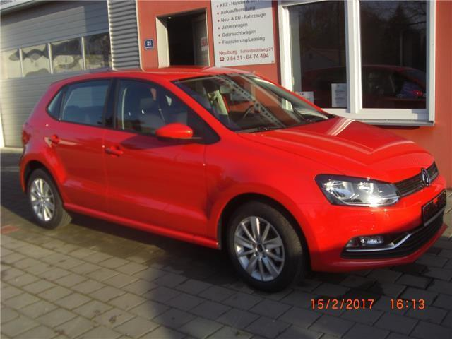 verkauft vw polo gebraucht 2016 80 km in neuburg. Black Bedroom Furniture Sets. Home Design Ideas